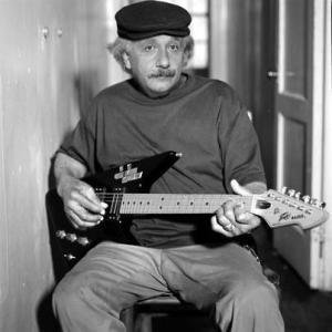 Einsteinguitarplaying